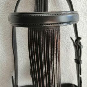Cabezada Negra 3 cm